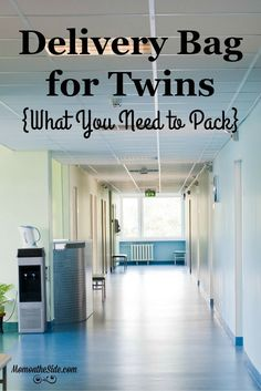 It's better to be over prepared when delivery twins. First, what to pack in your Delivery Bag for Twins that is for YOU! Second, what to pack for the twins!