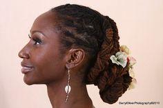 Wedding Locs Hairstyles