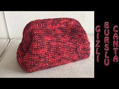 Crochet Clutch, Crochet Handbags, Crochet Purses, Crochet Bags, Love Crochet, Knit Crochet, Crochet Stitches, Crochet Patterns, Crochet Bag Tutorials