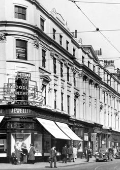 Boodles House, Lord Street corner, Liverpool, 1948