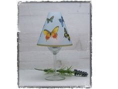 individuelles Windlicht Lampenschirm Schmetterlinge von NanoesWelt, €5.90