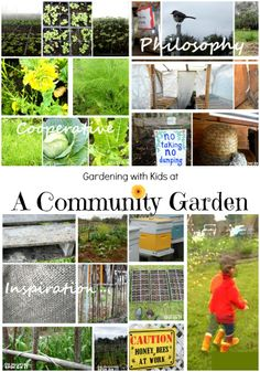 Garden Cooperative with Kids at The Educators' Spin On It