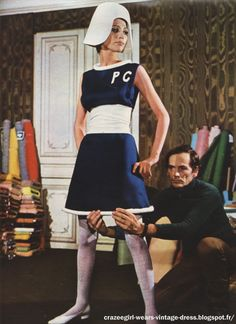 The fashion of CrazeeGirl !: Pierre Cardin dress - 1967