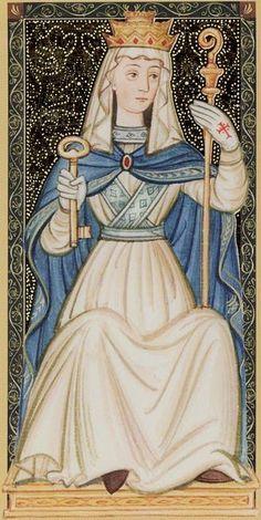 La Papesse, arcane de l'intuiton et de la Sagesse