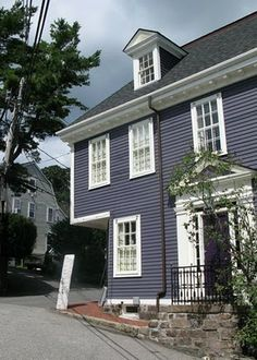 The Lafayette house in Marblehead - From An Urban Cottage Blog