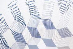 torafu architects: gradation + cubed pattern airvases