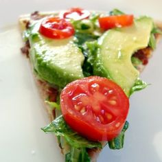 This healthy pizza looks amazing. Love veggies on pizza. This would be great for dinner.
