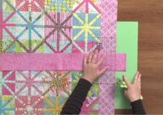 Here's a method for cutting and measuring #quilt borders that is fast, easy, and accurate, especially for large quilts: http://www.nationalquilterscircle.com/video/how-to-make-a-quilt-border-cutting-and-measuring/