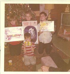 Christmas Past, Christmas Toys, Christmas Presents, Vintage Photographs, Vintage Photos, Vintage Christmas Photos, Photo Colour, Color, Play Dough