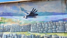 Street Art & Graffiti- Cusco, Peru.  The Street Art in Cusco Peru is very much flavored by the local culture.  Truly one of my favorite places in the world.  Original photography from R. Stowe. Majestic Andean Condor