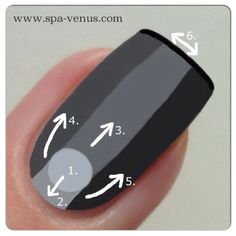 How to apply nail polish. Have you tried out the new, super cool VINYLUX weekly polish from CND?