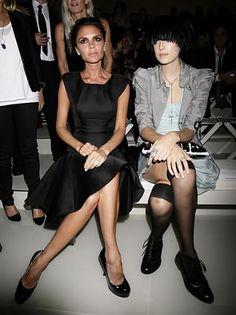 Victoria Beckham & Aggy Deyn