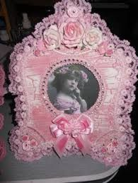 Image result for shabby chic altered picture frames