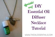 How To Make An Essential Oil Diffuser Necklace | Get The Tutorial Here!