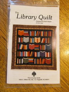 Library Books Quilt Block Tutorial: Celebrate NaNoWriMo with ... : library book quilt pattern - Adamdwight.com