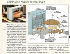 WoodArchivist is a Woodworking resource site which focuses on Woodworking Projects, Plans, Tips, Jigs, Tools Woodworking Jigs, Woodworking Projects, Shop Dust Collection, Wood Planer, Diy Shops, Dust Collector, Homemade Tools, Wood Tools, Wood Dust