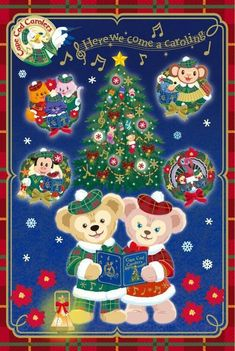 Christmas Sweets, Disney Christmas, Christmas Ornaments, Disney Fan, Disney Love, Sanrio Wallpaper, Disney Wallpaper, Realistic Disney Princess, Duffy The Disney Bear