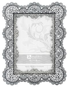 Malden International Designs Sabella Lace Metal Picture Frame, Silver Holds one photo Easel back for tabletop display Wipes Clean Vintage Frames, Grown Up Bedroom, Metal Picture Frames, Deer Pearl Flowers, Thing 1, Wedding Frames, Decorative Pillows, Cool Things To Buy, Wedding Decorations