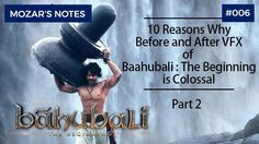 vfx before after baahubali part 2