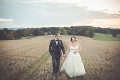 Early Autumn evening at Fitzleroi Wedding Barn. Photo by Fulton Photography