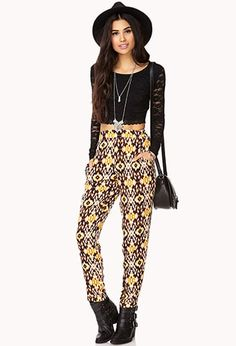 Desert Cool Ikat Pants