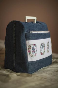 How to make a cover for your sewing machine ...Useful and pretty!