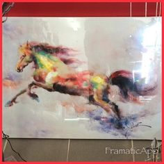 Stunning picture only $69.95 #warrnambool #shop3280 #warrnamboolchristmasshop #horse #mayraces2016 #horselover by warrnambool_christmas_shop