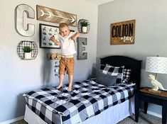This little cutie is jumping for joy that it's SUMMER! ☀ But can you believe that June is already almost over? Sadly summer is flying by. But with Beddy's since you zip your bed.you have more time for fun! Big Boy Bedrooms, Boys Bedroom Decor, Girls Bedroom, Boy Rooms, Toddler Bedroom Boys, Toddler Bedding Boy, Boys Bedroom Ideas 8 Year Old, Boys Bedroom Furniture, Toddler Rooms