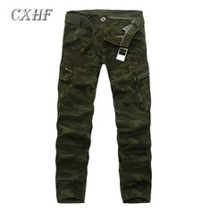c8a912c7a726 mens summer fashion New Brand army Green Men Pants Camouflage Tactical  Cargo pants Casual Cotton Straight
