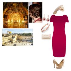 """""""*Royal Crossover* FLASHFORWARD!Attending the jubilee service at the Church of the Holy Sepulchre and walking around the city with royals afterwards."""" by new-generation-1999 ❤ liked on Polyvore featuring Effy Jewelry, Roberto Coin, Ivanka Trump, Philip Treacy and Valentino"""