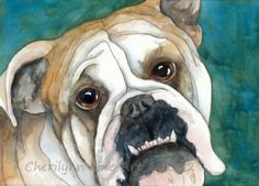 Holiday Portrait Sale from talented pet portraitist Cherilynn! Take a look, book early and you'll get a discount, + she donates 10% to an animal rescue. She's really nice, too. ;)