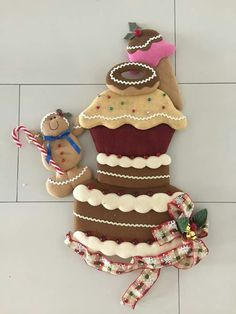 Navidad Gingerbread Man Decorations, Christmas Gingerbread, Gingerbread Cookies, Christmas Decorations, Country Christmas, Christmas Time, Xmas, Christmas Sewing, Christmas Crafts