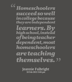 As my son headed off to traditional highschool this year - this has been true for him... so it happens by upper primary school. Homeschool
