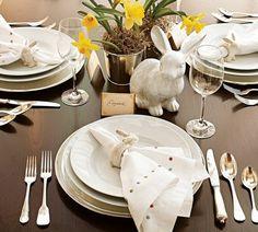 décoration Pâques idee table