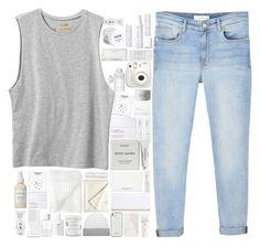 """~White~Is~Clean~"" by fashionqueen14871 ❤ liked on Polyvore featuring RVCA, MANGO, Byredo, NARS Cosmetics, Fujifilm, Eve Lom, Khirma Eliazov, Boohoo, David Jones and Shuj"