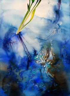 Carol Carter, watercolor