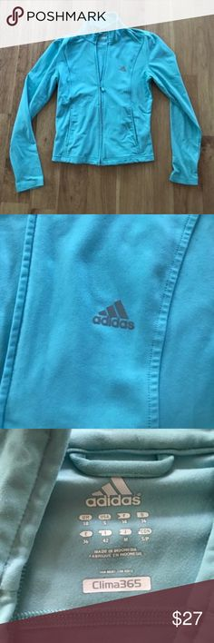 Adidas Blue Fitted Zip Up Jacket Size Small ⚜️I love receiving offers through the offer button!⚜️ Good condition, as seen in pictures! Fast same or next day shipping!📨 Open to offers but I don't negotiate in the comments so please use the offer button😊 Check out the rest of my closet for more Adidas, Lululemon, Tory Burch, Urban Outfitters, Free People, Anthropologie, Victoria's Secret, Sam Edelman, Topshop, Asos, Revolve, Brandy Melville, Zara, and American Apparel! adidas Jackets & Coats