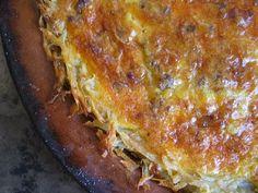 Mama's Minutia: Potato crust quiche