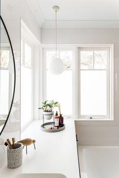 4b76d6c54b0652 A Light and Bright Home Renovation in North Fremantle. Bathroom Ceiling  LightBathroom LightingStaple ...