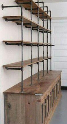Awesome Modern Rustic Industrial Furniture Design Ideas 03 #vintageindustrialfurniture