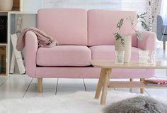 13 petits canapés stylés pour petits espaces New Homes, Decor, Love Seat, Furniture, Living Room, Home, Bedroom Office, Home Decor, Room