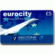 Eurocity £5 International Calling Card