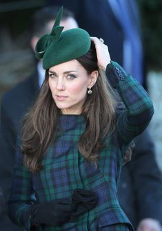 Kate Middleton - The Royal Family Attend Christmas Day Service At Sandringham