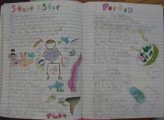 """8th grader Chris provided this student sample from his writer's notebook. """"Start and Stop Poetry"""" is the center-square lesson on our Writer's Notebook Bingo card for February.  You can preview the set of cards here: http://corbettharrison.com/products.html#bingo"""