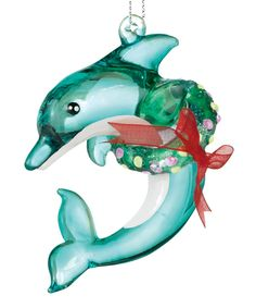 Christmas Dolphin Ornament | Daily deals for moms, babies and kids