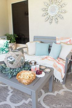 Rustic touches and a