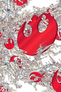 iPhone wallpaper rebel star wars