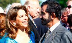 Haya bint Al Hussein y su marido Mohammed RSM