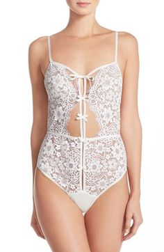 fafca3156328 For Love & Lemons 'Kate' Lace Bodysuit available at #Nordstrom For Love