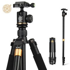 >> Click to Buy << QZSD Q580 57-inch Professional Portable Travel Tripod Monopod with Ball Head Photography Tripod Stand For DSLR Camera Load 6kg #Affiliate